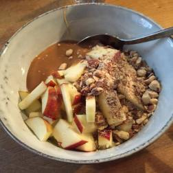 """Bougie porridge"" at a porridge restaurant in Denmark"