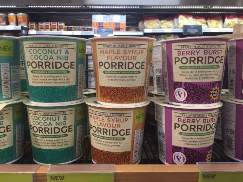 Porridge to go in the land of Wall-E