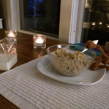 Monkey Celebrates World Porridge Day