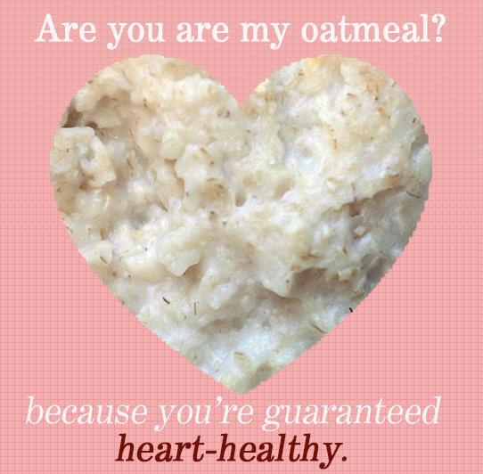 oatmeal valentine