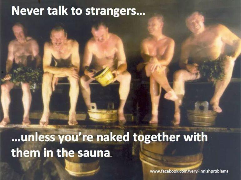 finnish sauna meme