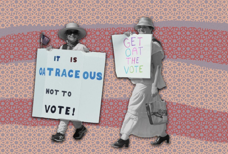get out the vote gotv beto for texas illustration