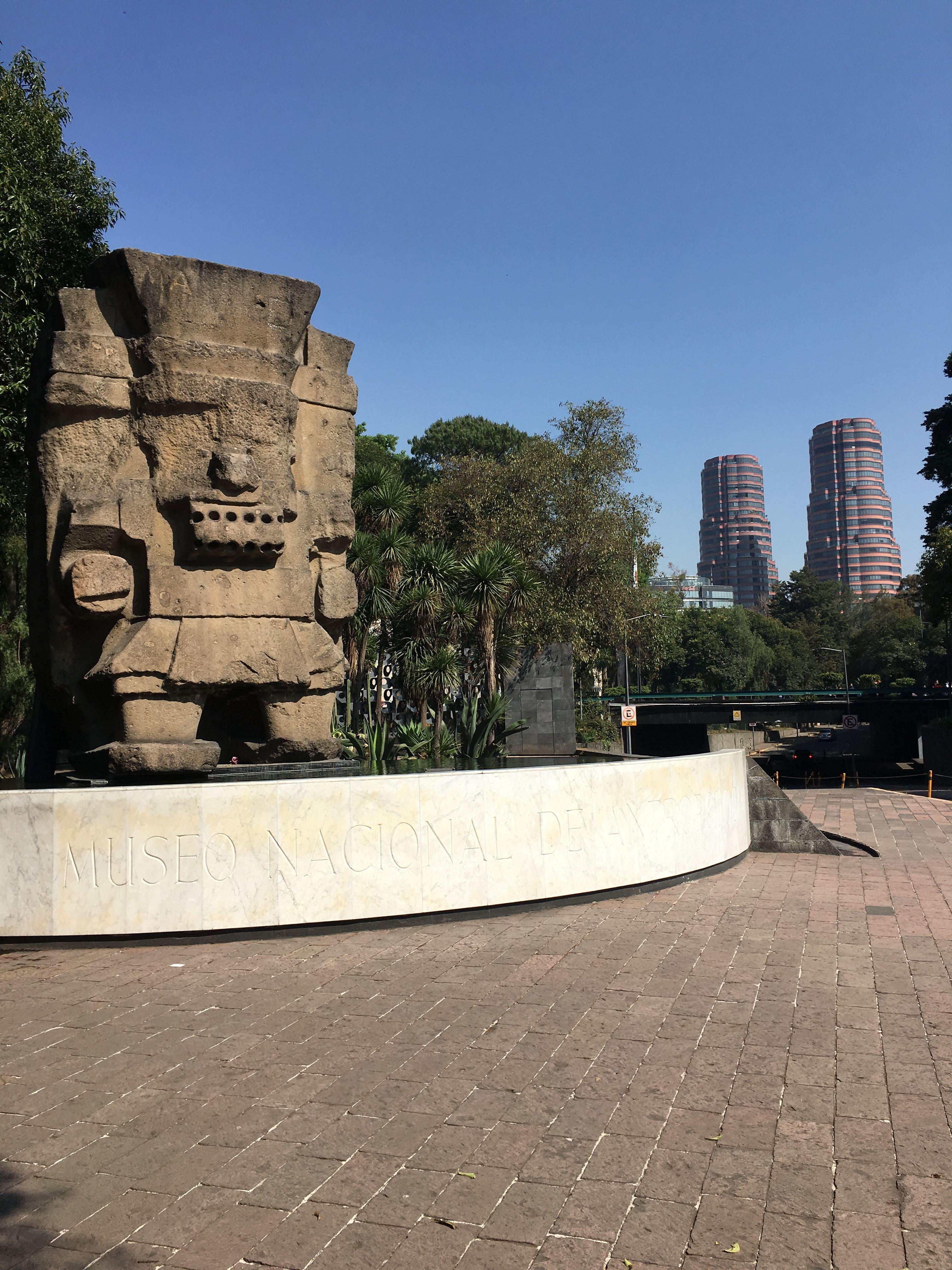 Museo Nacional de Antropología exterior