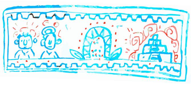 Maya creation myth motif